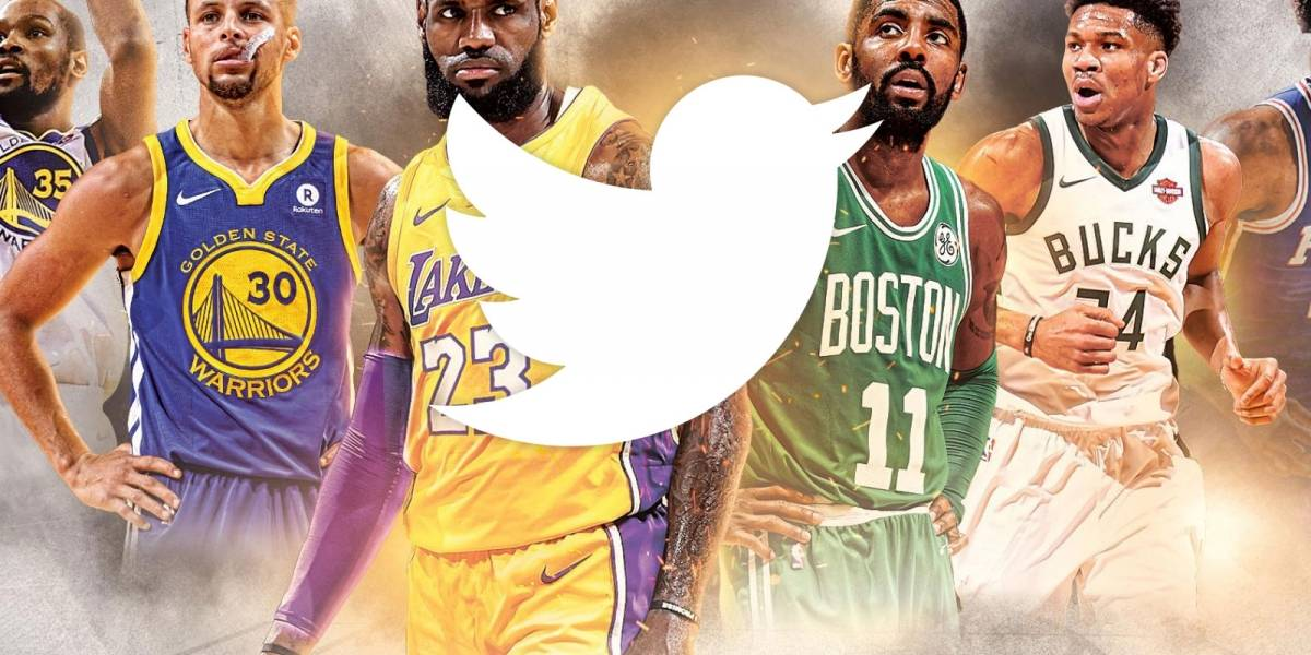Twitter transmitirá juegos de la NBA enfocados en un jugador que el público decida