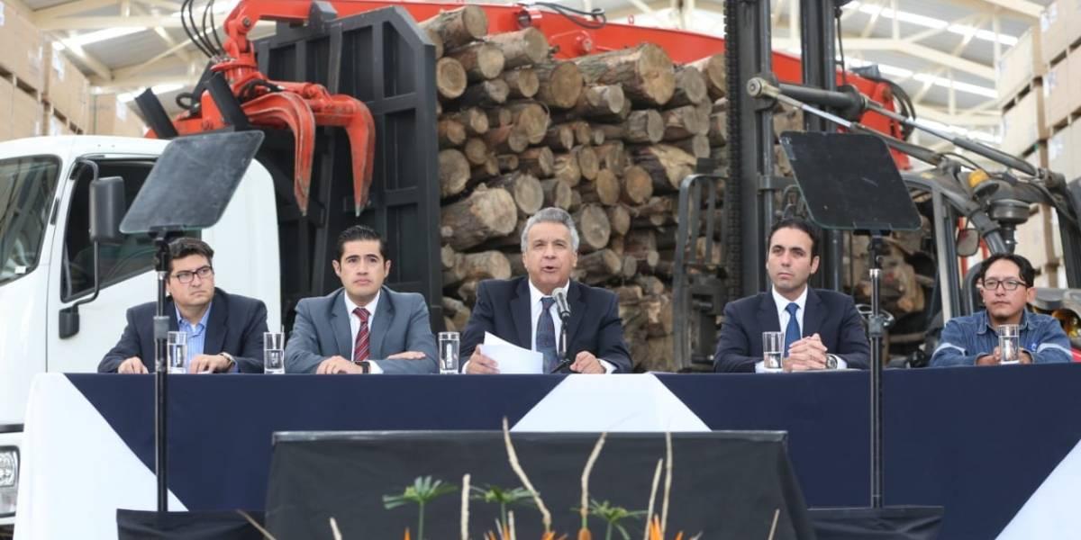 Lenín Moreno presentó el reglamento para Ley de Fomento Productivo