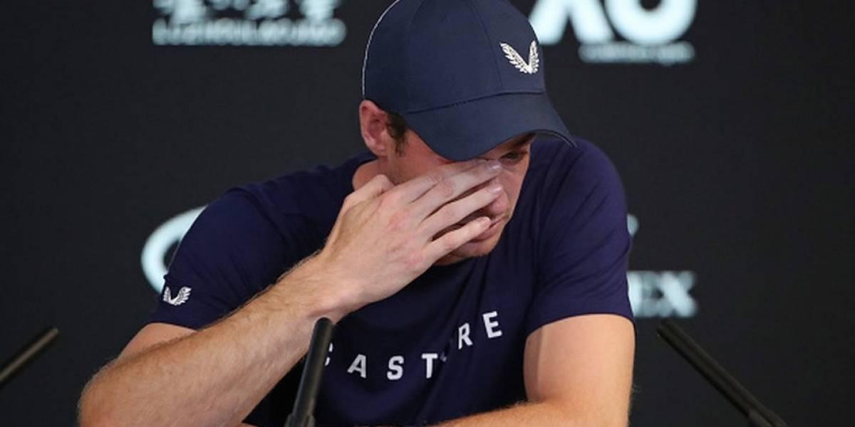 El emotivo anuncio de Andy Murray de que se retirará de las pistas de tenis por su dolorosa lesión de cadera