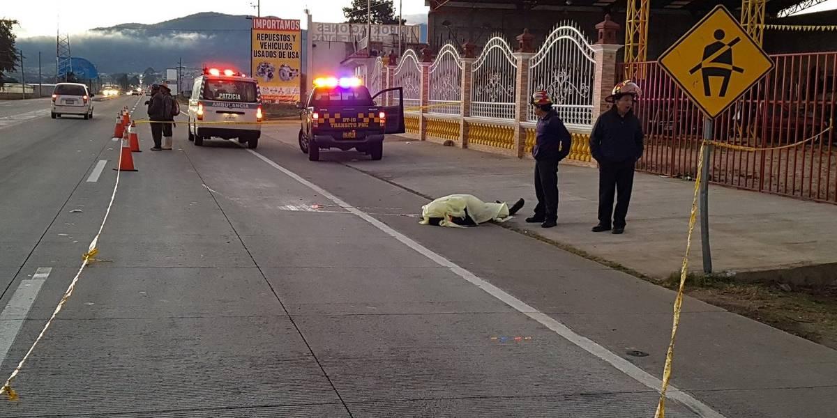 Tras ser atropellado, fallece agente del Departamento de Tránsito de la PNC
