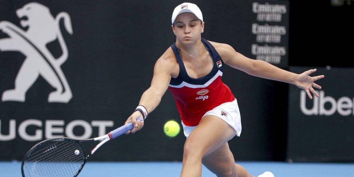 Ashleigh Barty adelanta a la final del torneo de Sydney