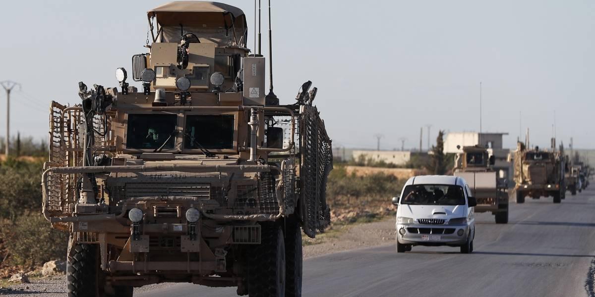 EEUU empieza la retirada de tropas de Siria