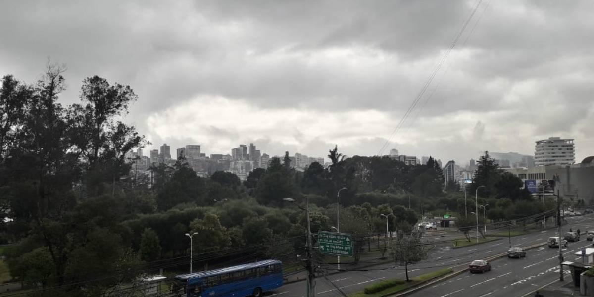 Pronóstico del tiempo del 11 de enero: Se espera más niebla y lluvias en Quito, según el Inamhi