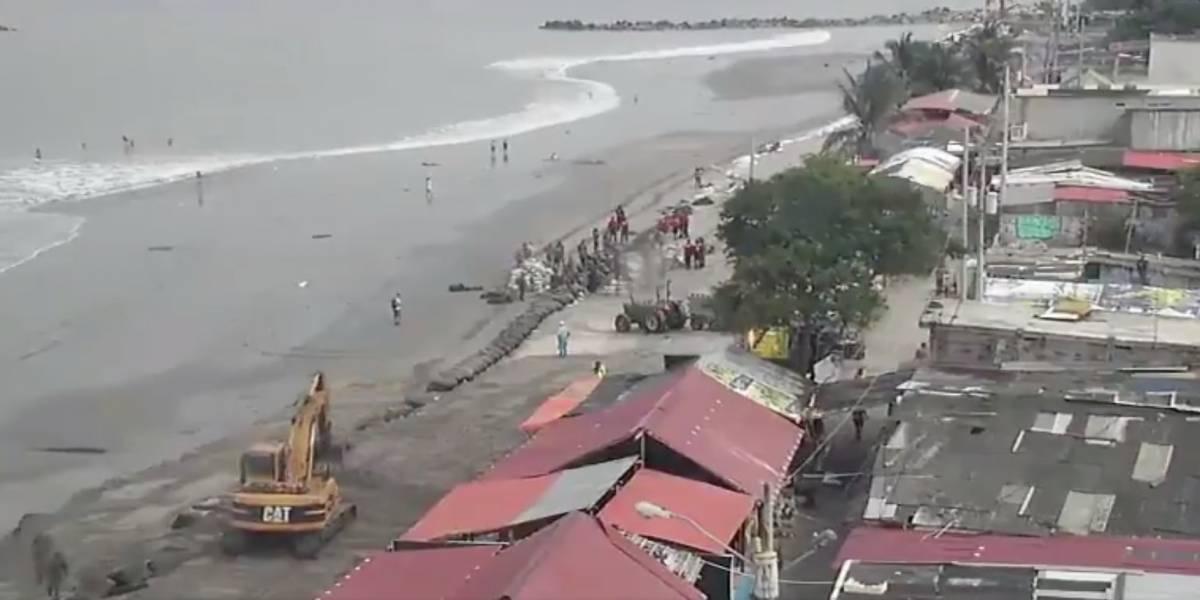 Inocar: Oleaje entre moderado y ligeramente agitado en el litoral hasta el 14 de enero