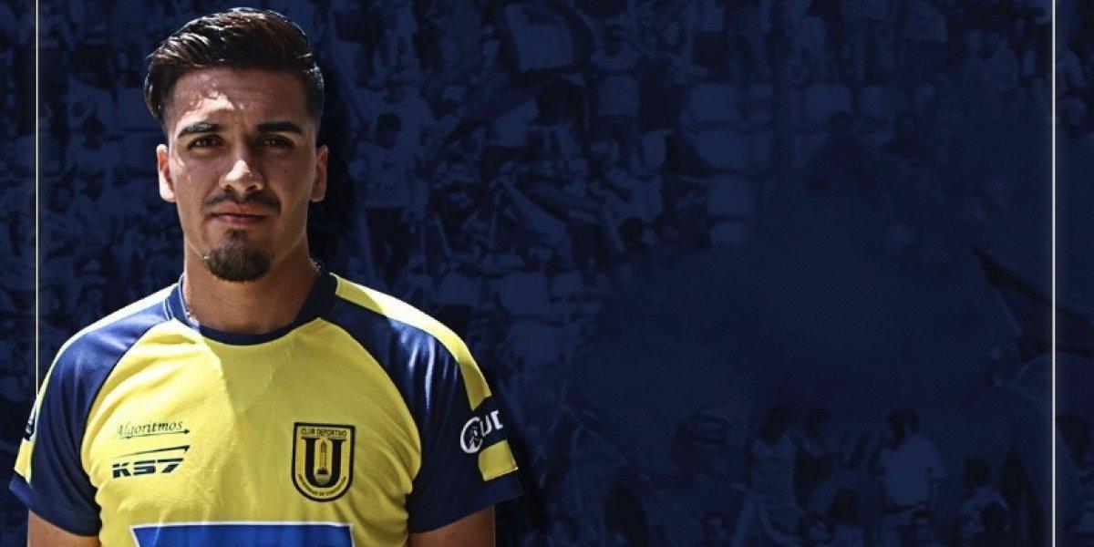 Nicolás Orellana es nuevo refuerzo de U. de Concepción y volverá a jugar después de seis meses