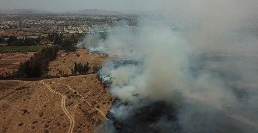 Incendio en Puente Alto
