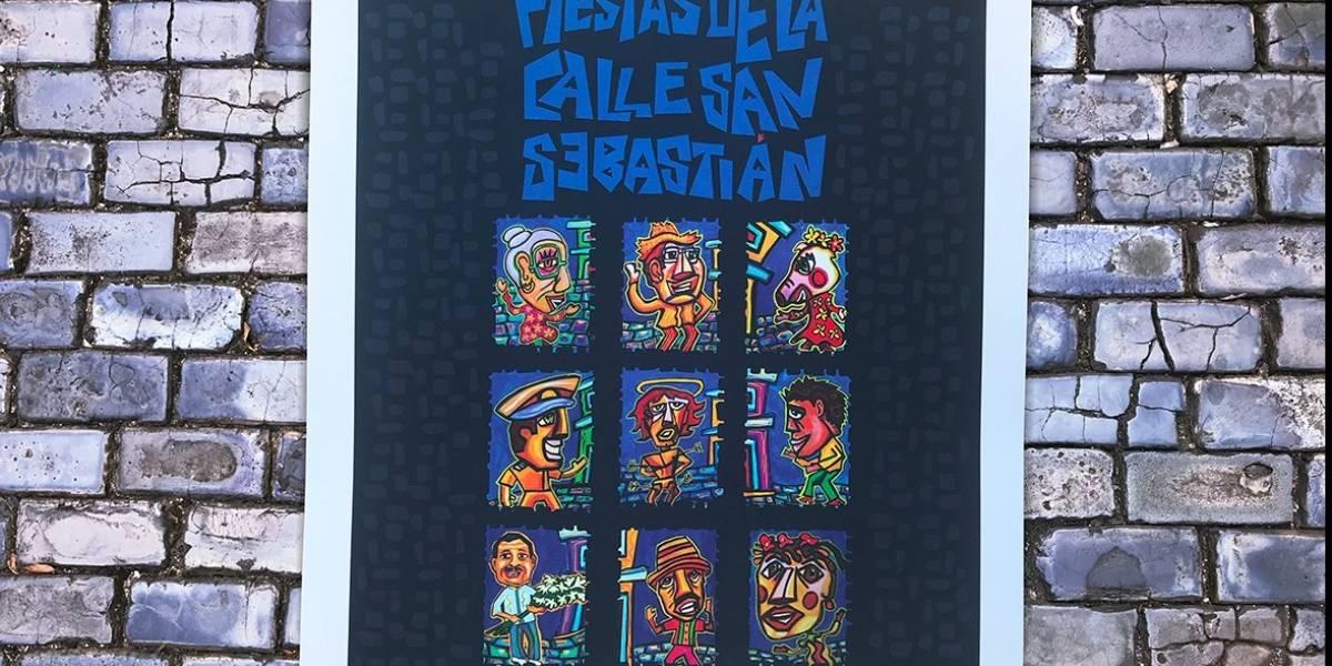 Aqu Est El Cartel Oficial De Las Fiestas De La Calle San