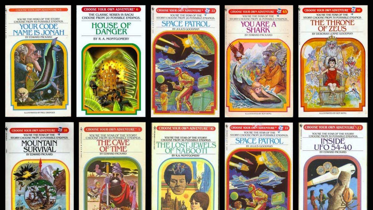 Bandersnatch Choose your own Adventure
