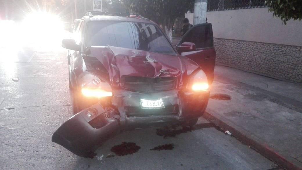 accidente de tránsito en zona 10