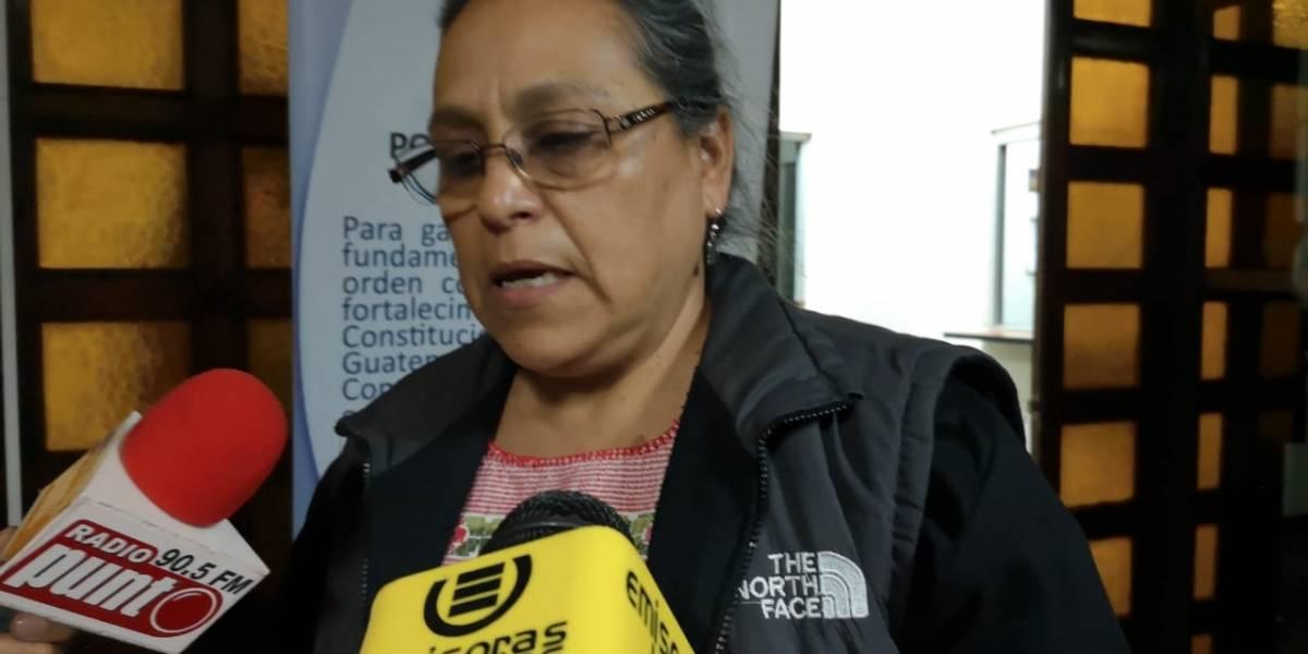 Diputada Sandra Morán presenta amparo para garantizar la libertad de manifestación
