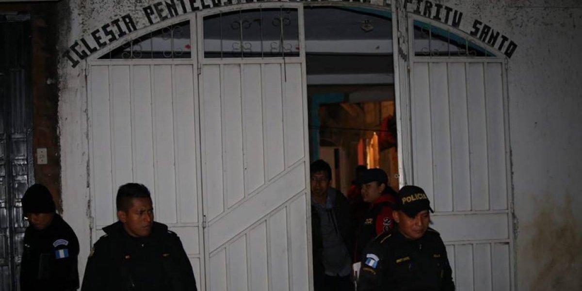 PNC localiza cadáver dentro de iglesia evangélica en San Miguel Petapa