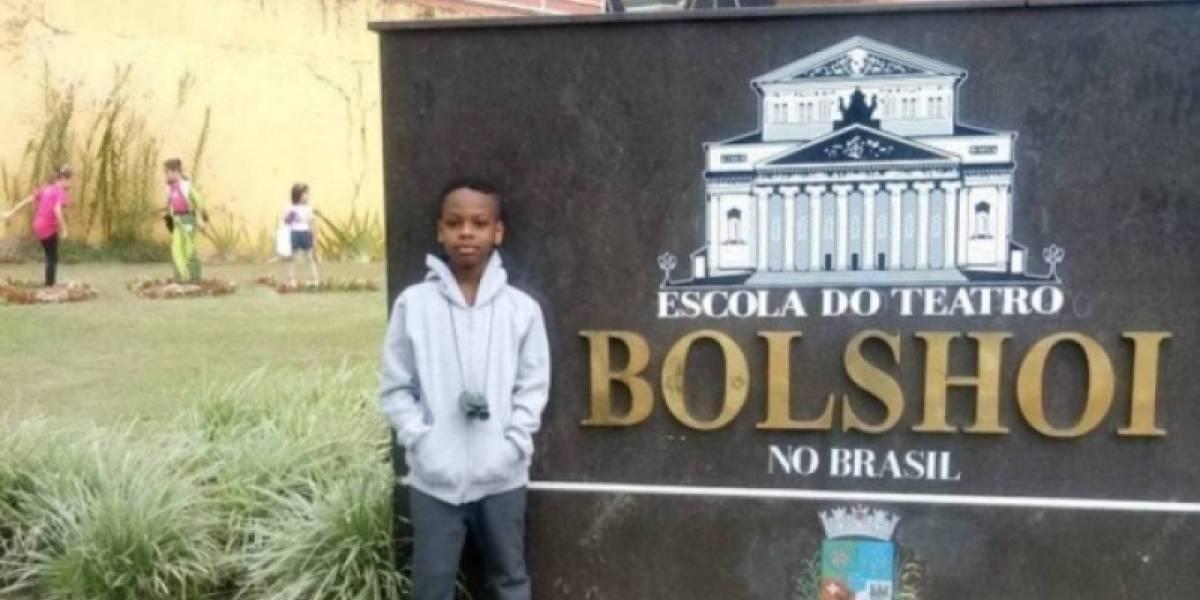 Baiano de 9 anos faz 'vaquinha online' para ingressar no Balé Bolshoi