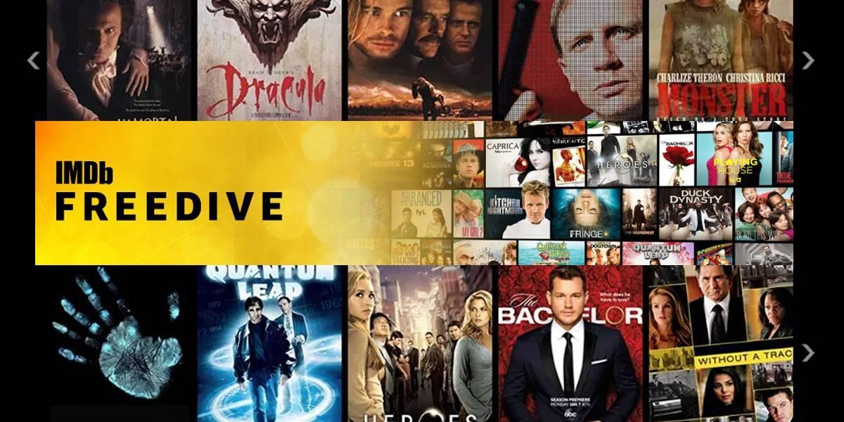 Películas gratis: IMDB acaba de lanzar Freedive, su Netflix gratuito con anuncios