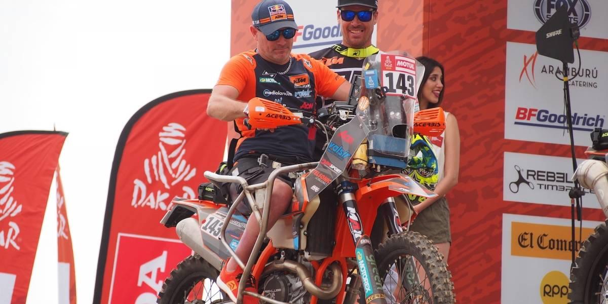 Abandona rally Dakar el primer piloto parapléjico