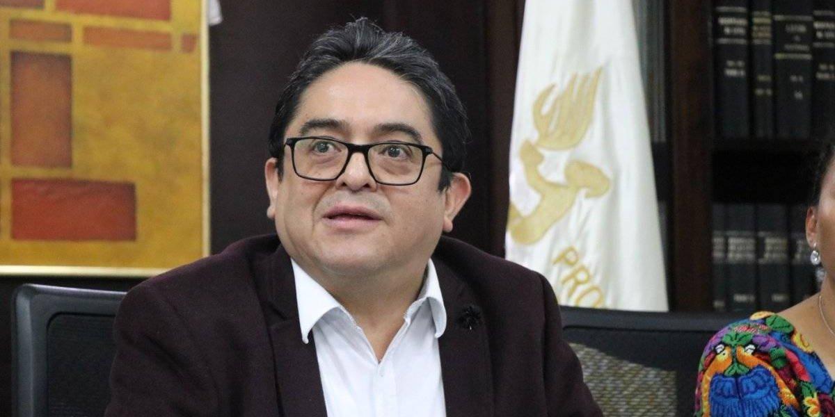 PDH presenta amparo contra la CSJ por tramitar antejuicio contra magistrados de CC