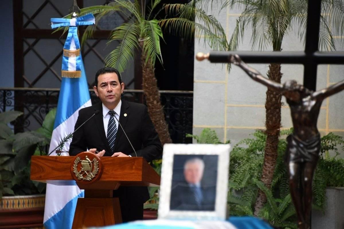 honras fúnebres al ex vicepresidente Francisco Reyes en el Palacio Nacional