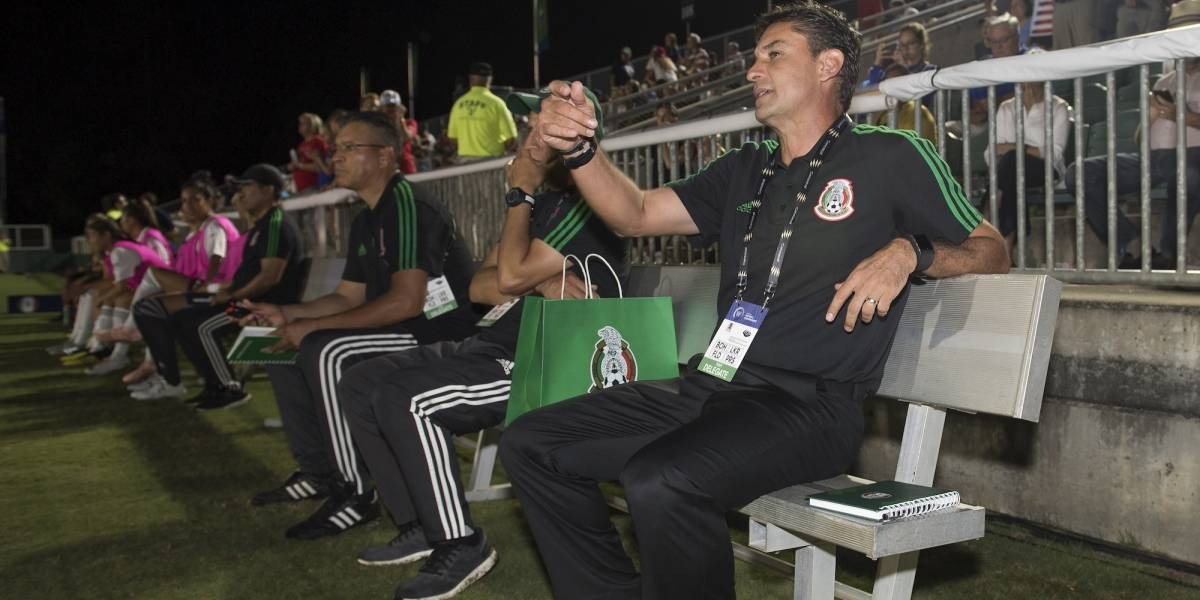 Tricolor femenil cambia de técnico, tras salida de Roberto Medina