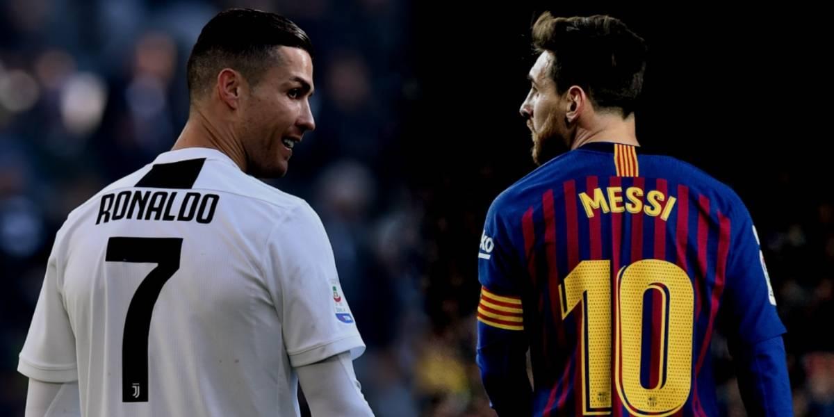 Cristiano y Messi, en el equipo del año 2018 de la UEFA