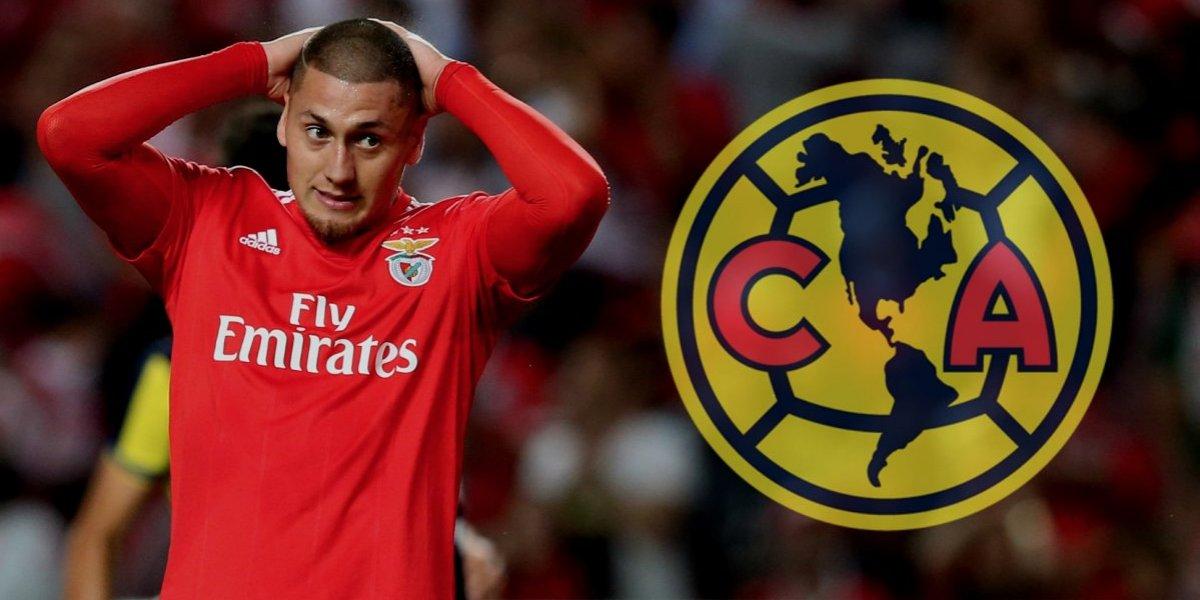 Nico Castillo, con deseo de jugar en América; Benfica, el impedimento