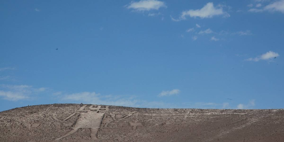 """Consejo de Defensa del Estado presenta querella criminal por daño al monumento """"Gigante de Tarapacá"""""""