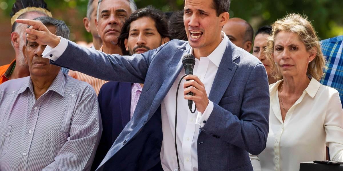 Fuerte condena internacional por breve detención de Juan Guaidó