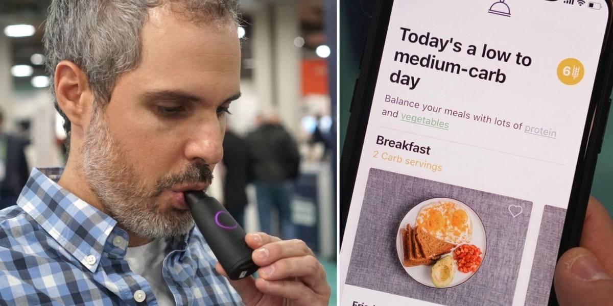 """Os """"bafômetros"""" que analisam seu hálito e sugerem o que você deve comer"""
