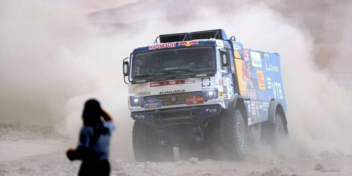 Accidentes Rally Dakar 2019: Camión atropelló a un espectador en plena competencia