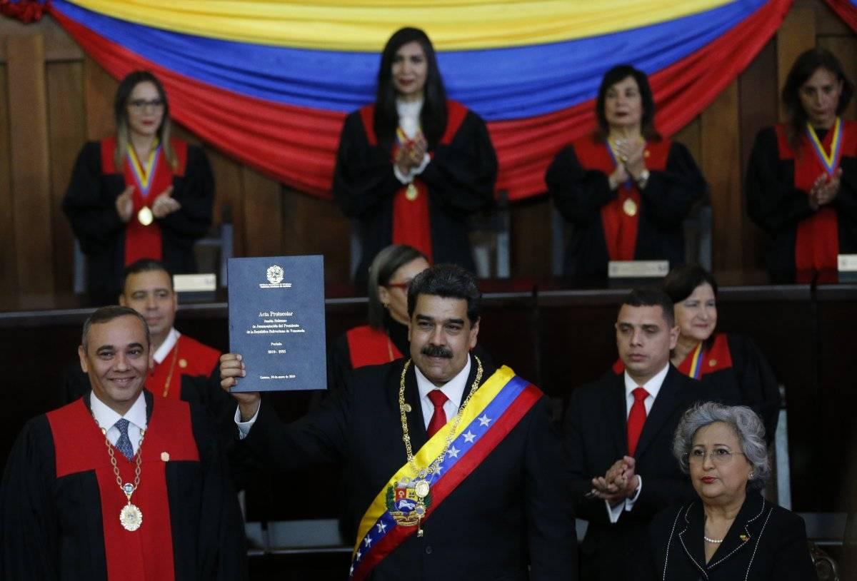 Nicolás Maduro asumió su segunda presidencia en Venezuela el 10 de enero Foto: AP