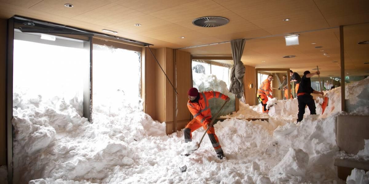 Ascienden a 21 los muertos por nevadas en Europa