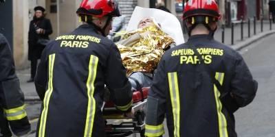Explosión por acumulación de gas en París deja dos muertos
