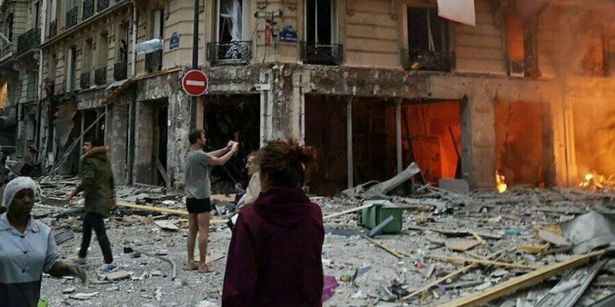 Explosión en panadería de París deja al menos 2 muertos y 47 heridos