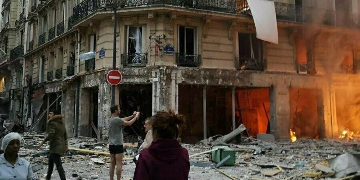 Explosión en panadería de París: al menos dos muertos y 47 heridos