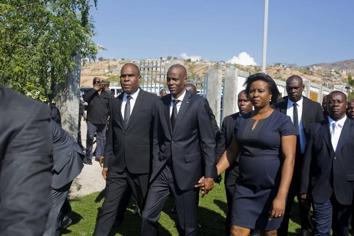 Ceremonia de conmemoración en Haití Foto: AP