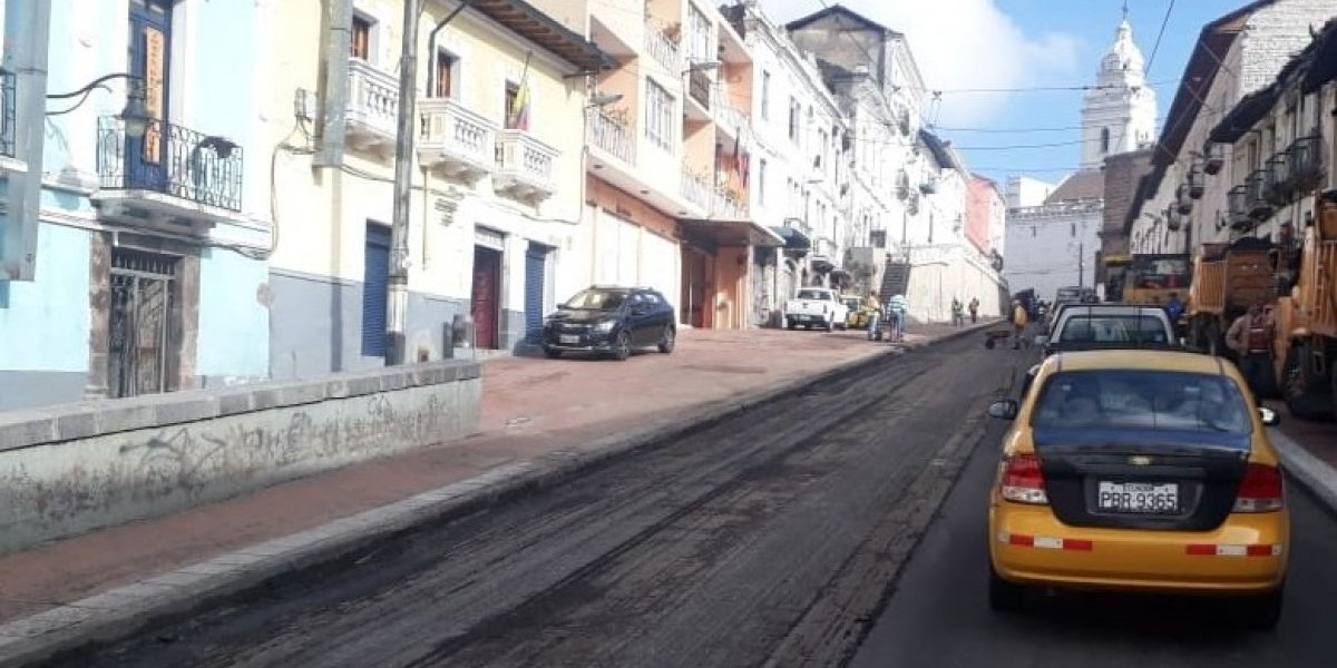 AMT: Conozca los cierres viales en Quito por mantenimiento