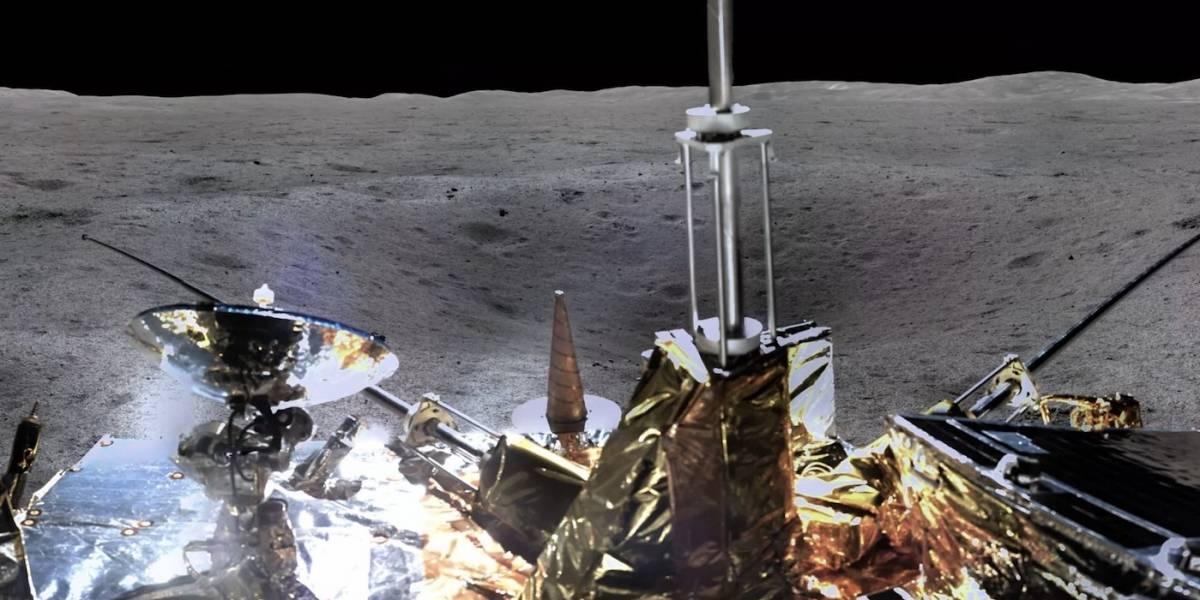 Sonda china envía la primera imagen 360 del lado oscuro de la Luna