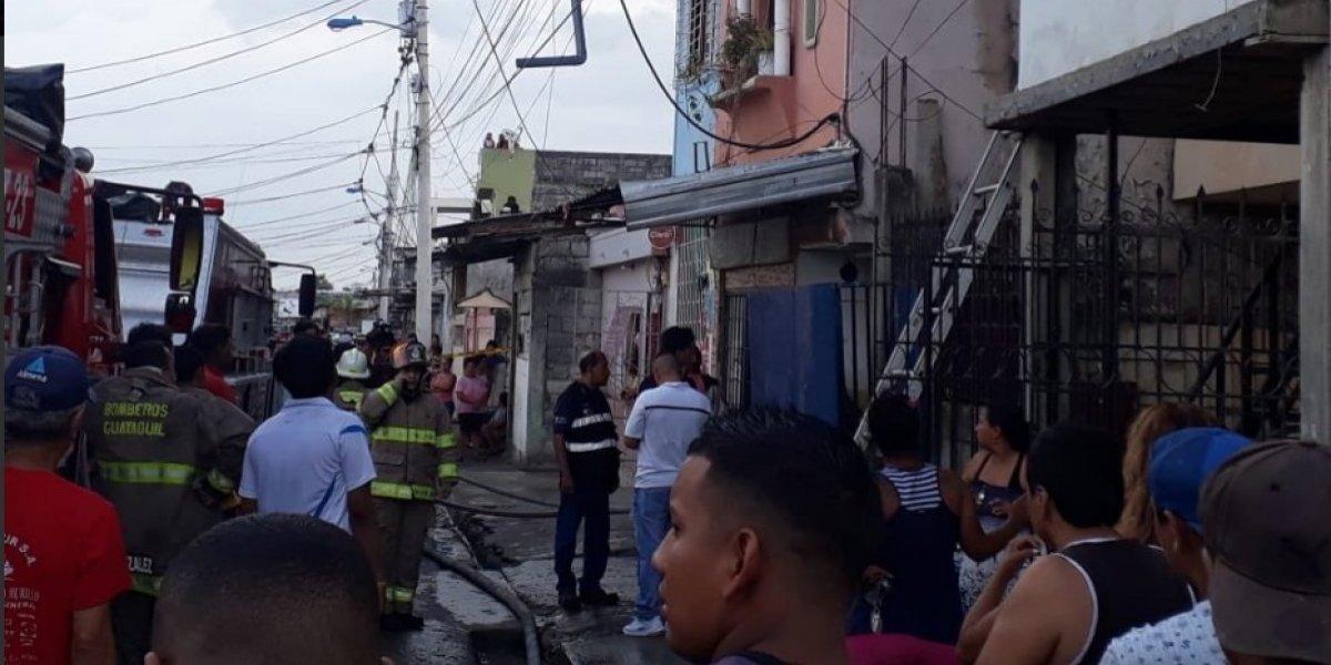 Guayaquil: Testigo revela hechos del incendio que dejó 18 muertos