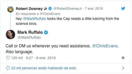 Marvel: Hulk y Iron Man 'trollean' a Capitán América en Twitter