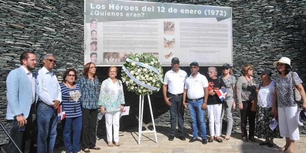 Conmemoran 47 años de la caída de Los Palmeros