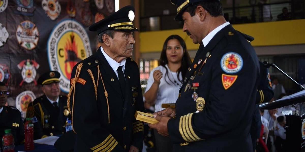 Investigan muerte de Mayor de Bomberos Voluntarios que llevaba 61 años de servicio