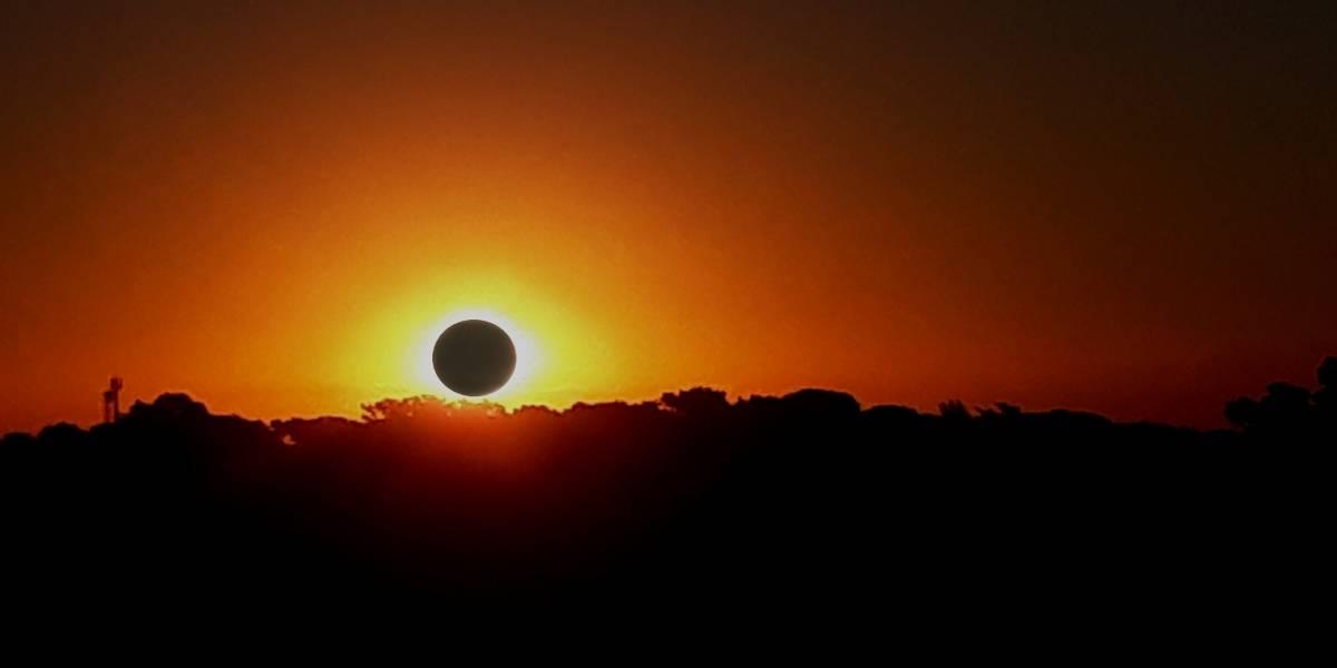 ¡Prepárate! Este año podrá verse un increíble eclipse solar total al 100%