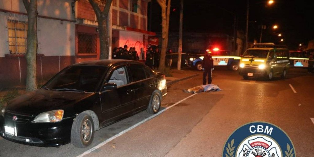 Dos fallecidos anoche tras balaceras en zonas 1 y 18