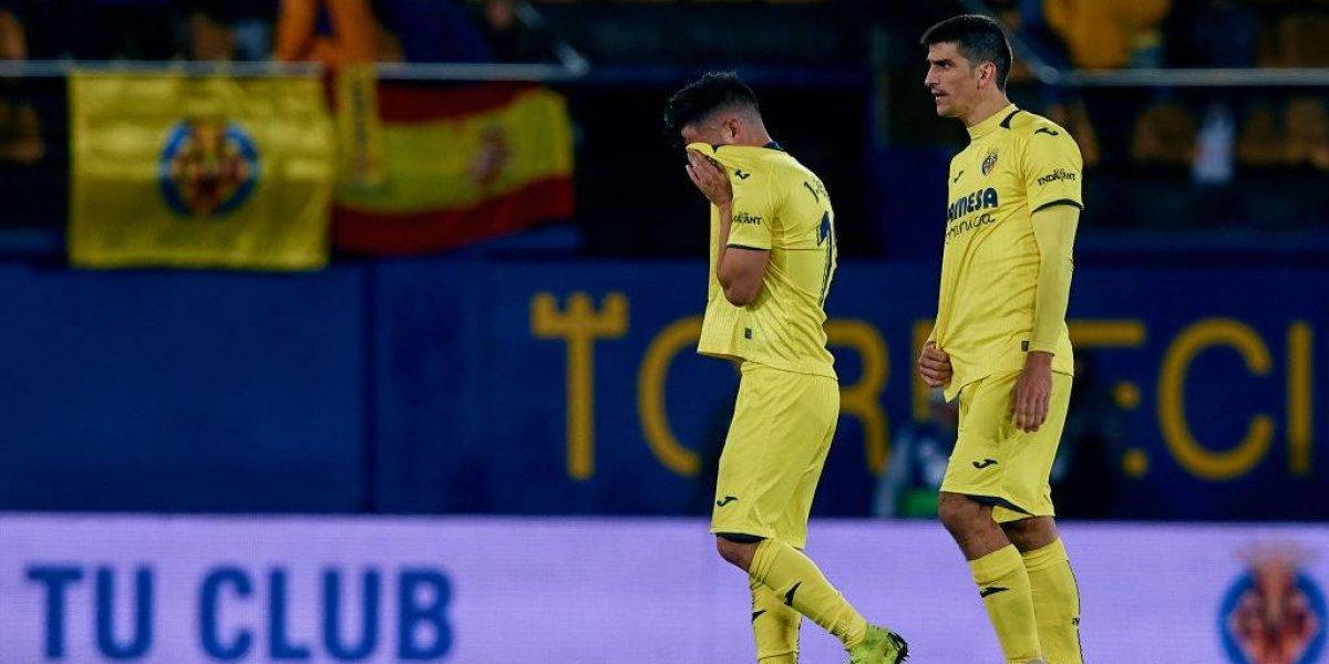 Sin Layún, Villarreal pierde y sigue en puestos de descenso