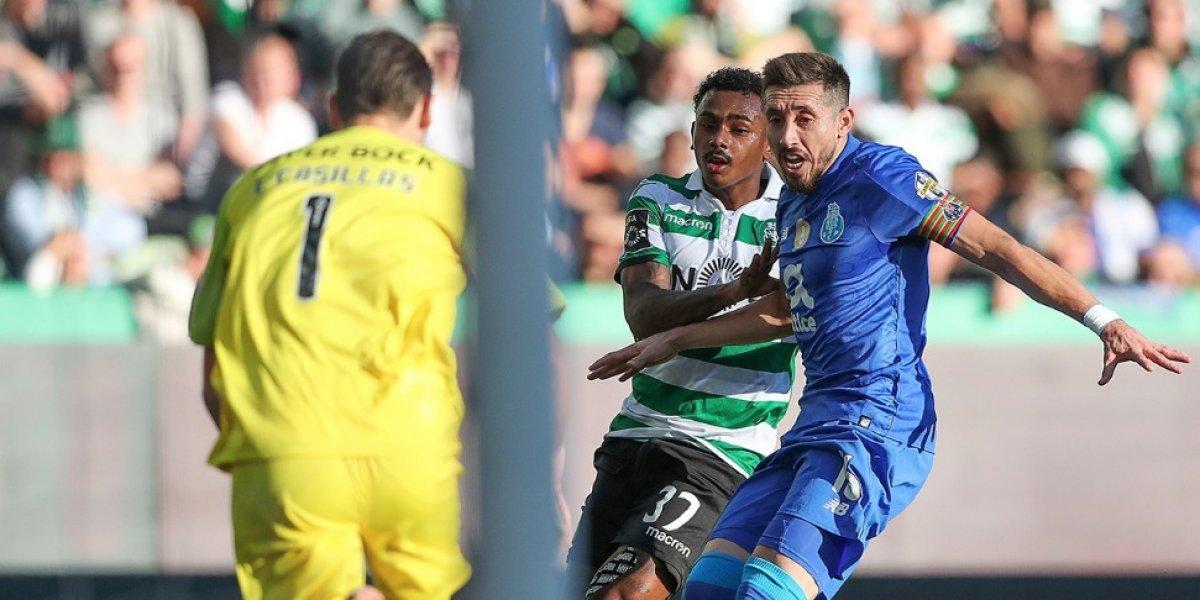 Con mexicanos en la cancha Porto empata sin goles el Clásico ante el Sporting de Lisboa