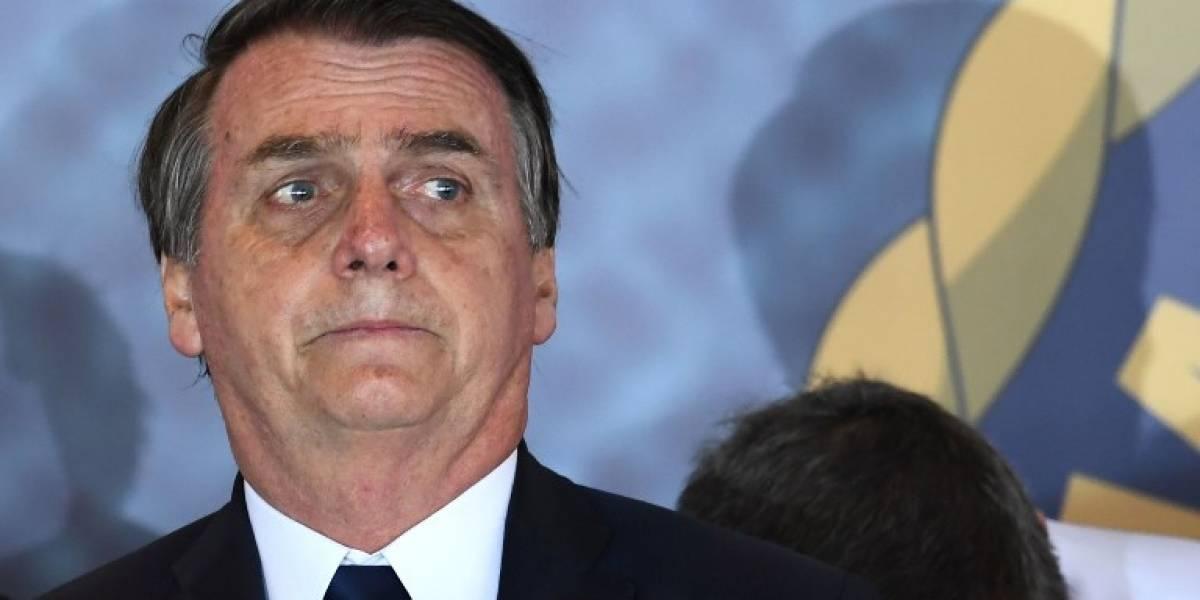 """Bolsonaro denuncia actos de """"terrorismo"""" en el noreste de Brasil"""