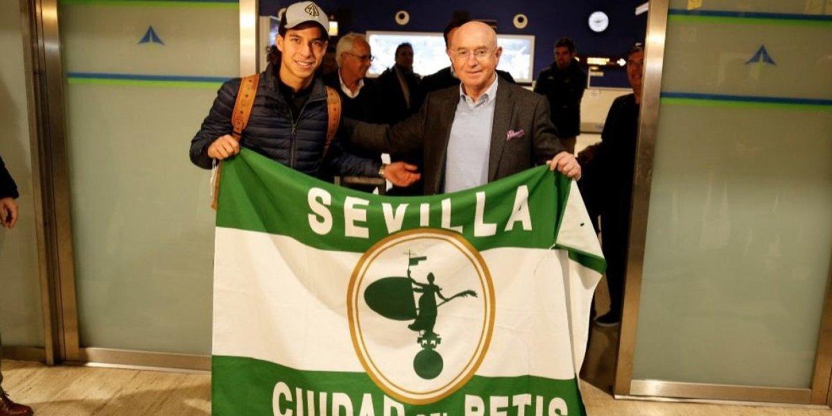 'Espero que sea un futbolista determinante': DT del Betis sobre Diego Lainez