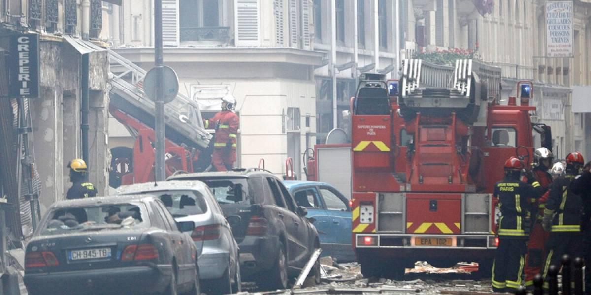Dos muertos y 47 heridos en explosión en panadería de París