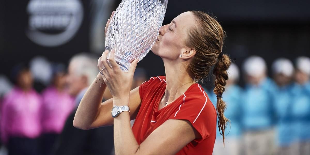 Petra Kvitova arruina la fiesta y se corona en Sydney