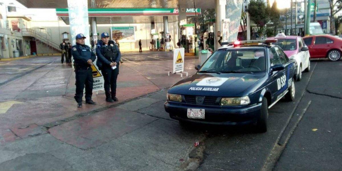Detienen a hombre por vender combustible en Tlalpan