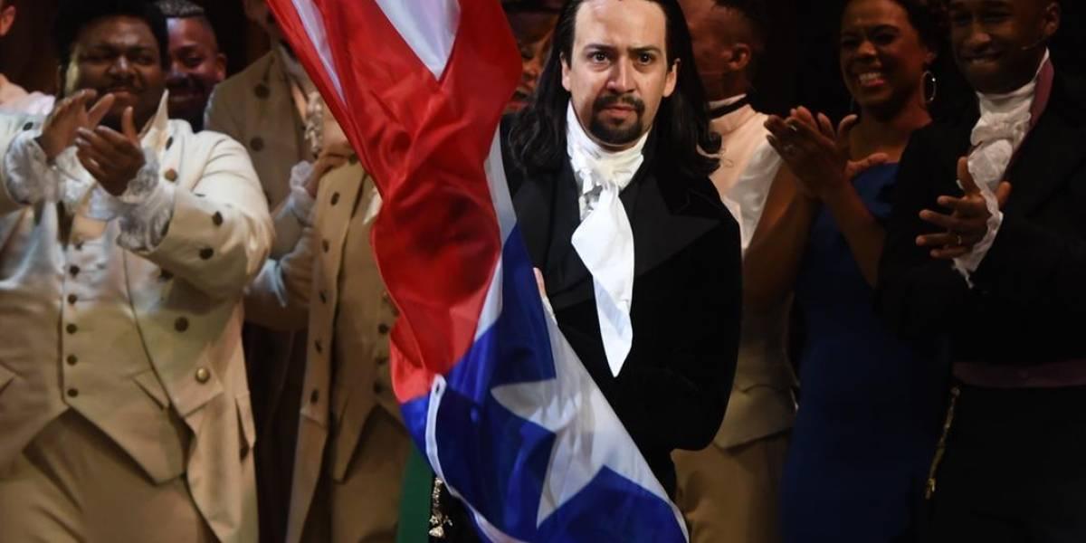 Cantan cumpleaños a Lin-Manuel Miranda en función de Hamilton