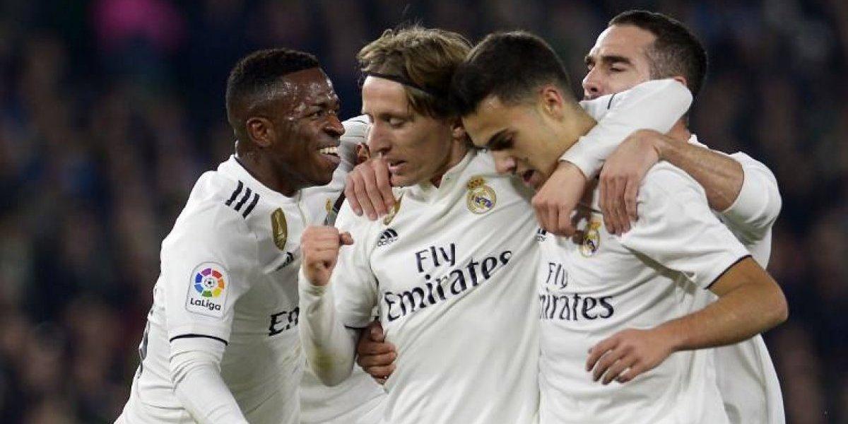 Con agonía, el Madrid se lleva los tres puntos de su visita al campo del Betis